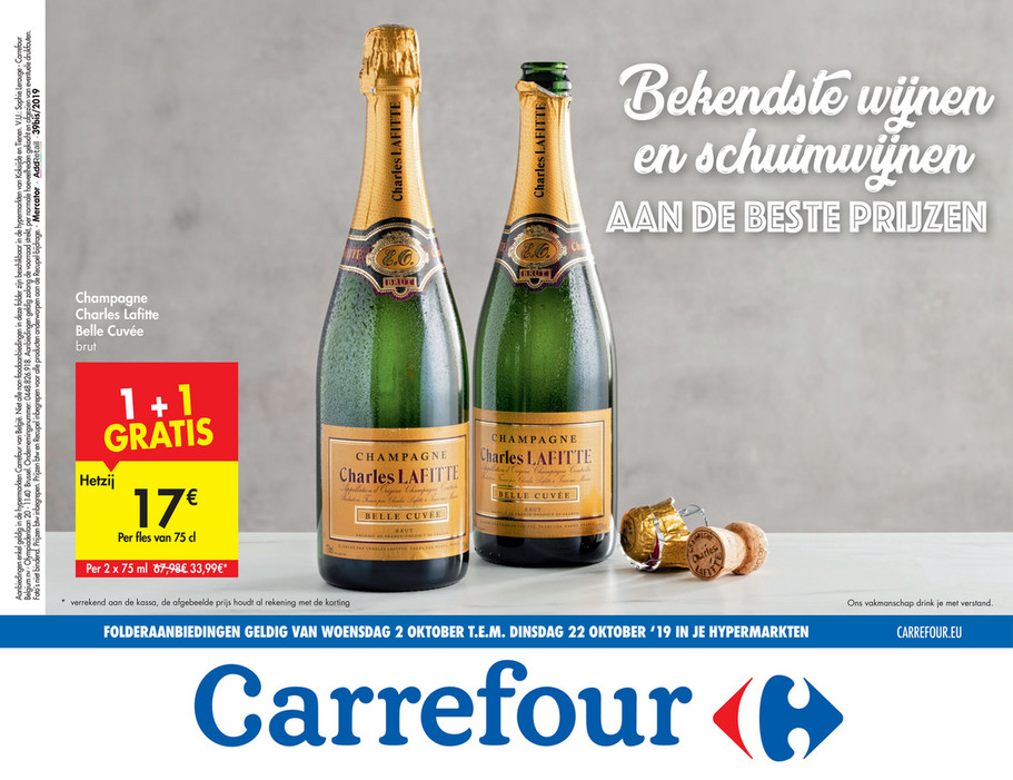 Carrefour folder van 02/10/2019 tot 22/10/2019 - Weekpromoties 40a