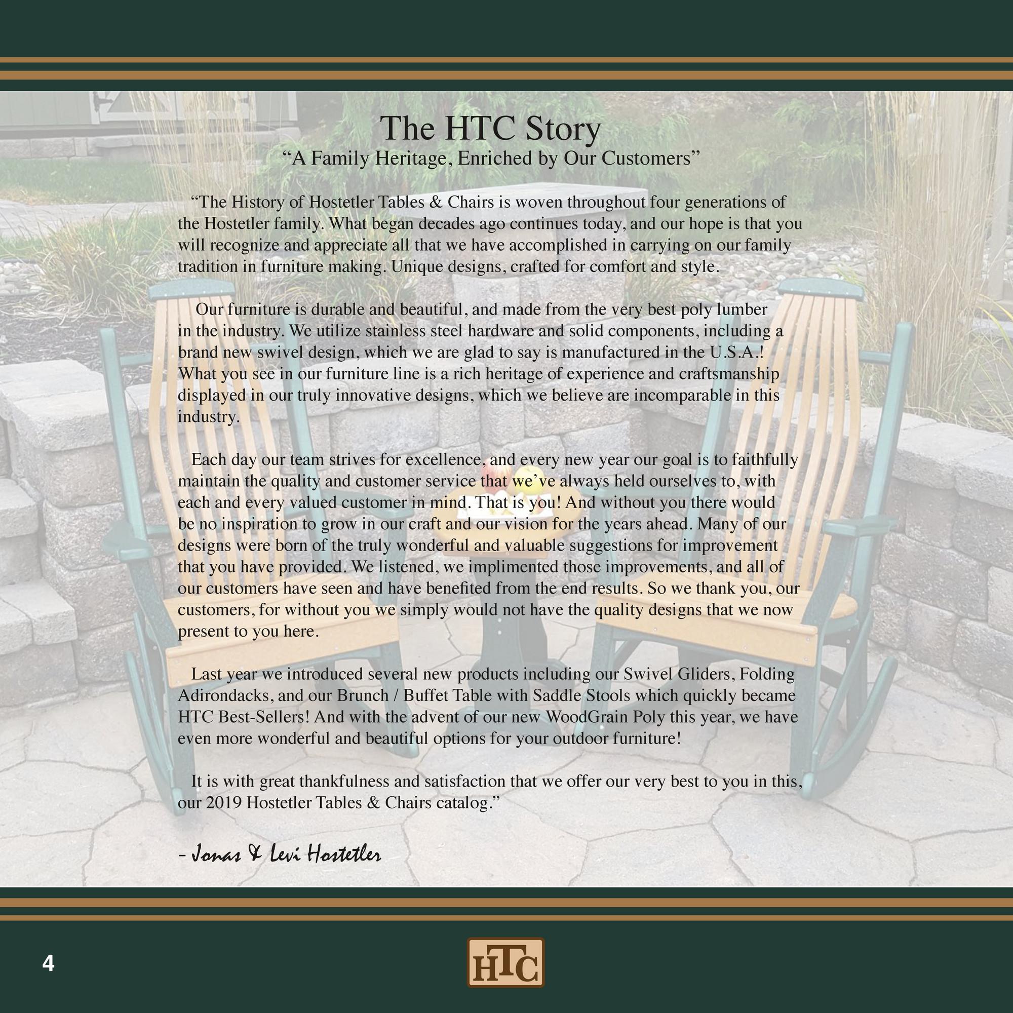 Sunny Meadows 2019htc Furniture Digitalcatalog Page 2 3 Created With Publitas Com