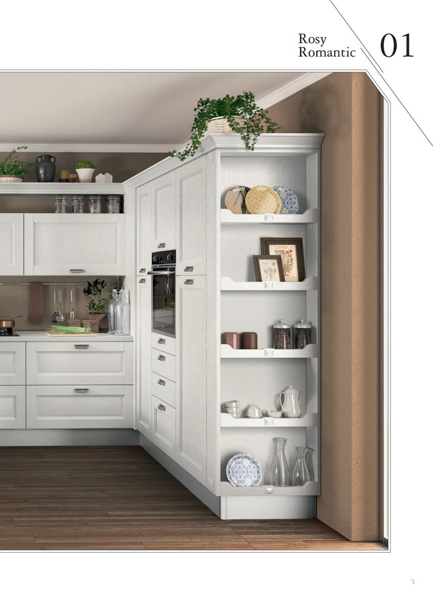 mobilificioarredil - Ala Cucine - Catalogo Rosy Romantic ...