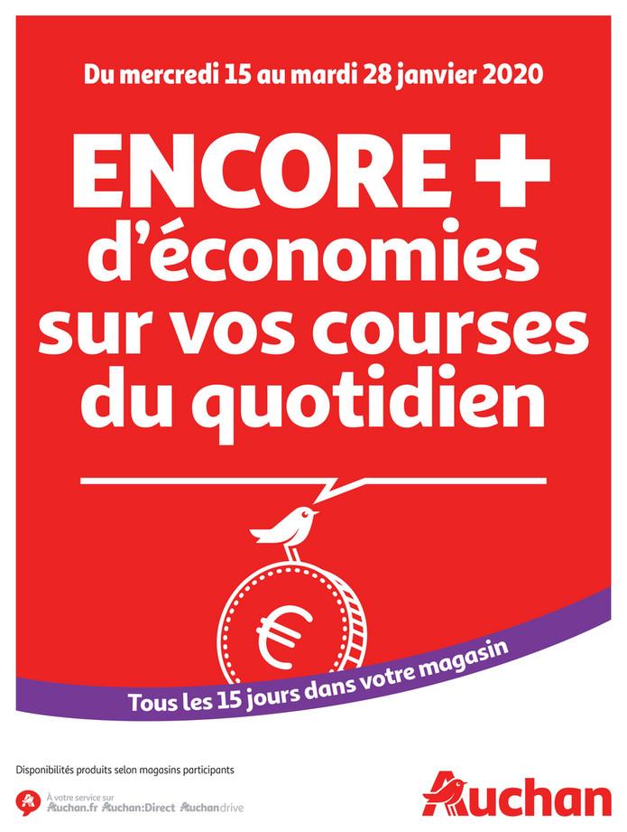 Folder Auchan du 16/01/2020 au 28/01/2020 - Promotions de la semaine 04