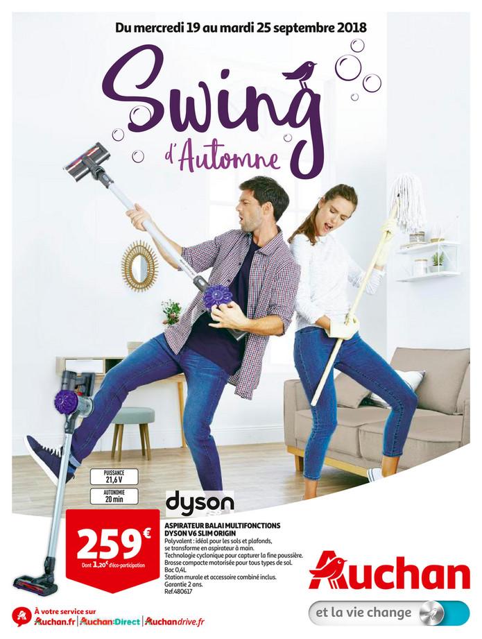 Folder Auchan du 19/09/2018 au 25/09/2018 - Swing