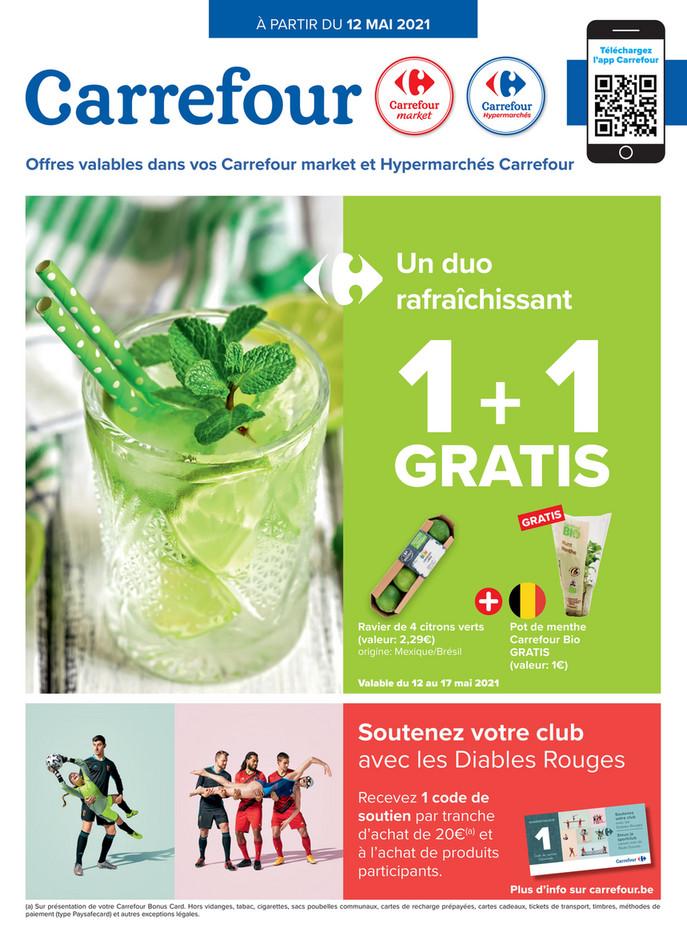Folder Carrefour Market du 12/05/2021 au 17/05/2021 - Promotions de la semaine 19