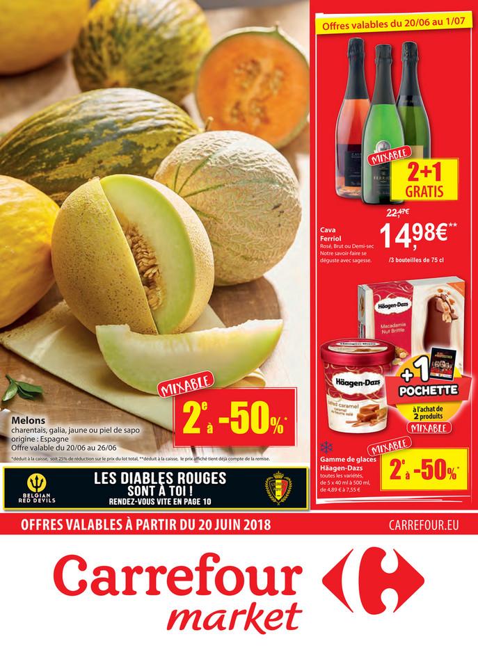 Folder Carrefour Market du 20/06/2018 au 01/07/2018 - Carrefour Market Melon