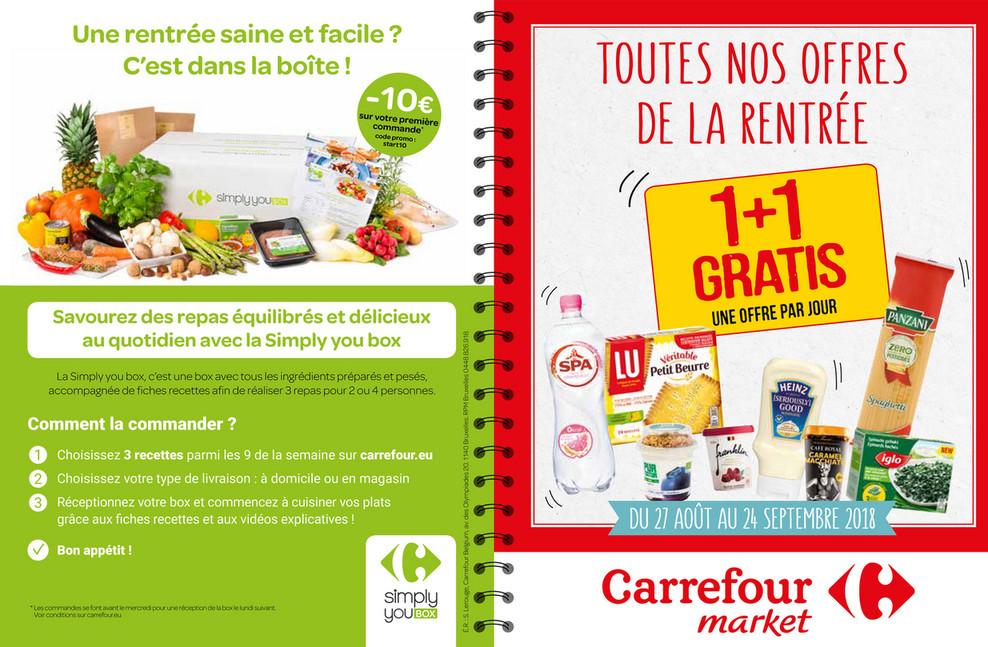 Folder Carrefour Market du 27/08/2018 au 24/09/2018 - carnet_de_bons_carrefour_market