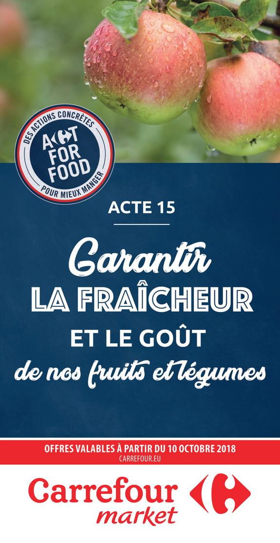 Folder Carrefour Market du 10/10/2018 au 21/10/2018 - Pomme