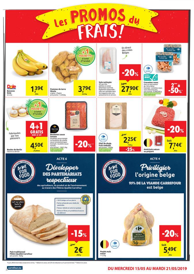 Folder Carrefour Market du 15/05/2019 au 21/05/2019 - Promotions de la semaine 20