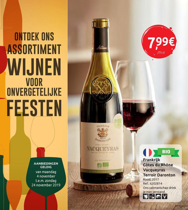Promoties 'Wijn'