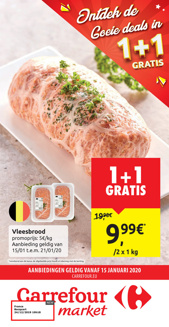 Carrefour Market folder van 15/01/2020 tot 21/01/2020 - Weekpromoties 03