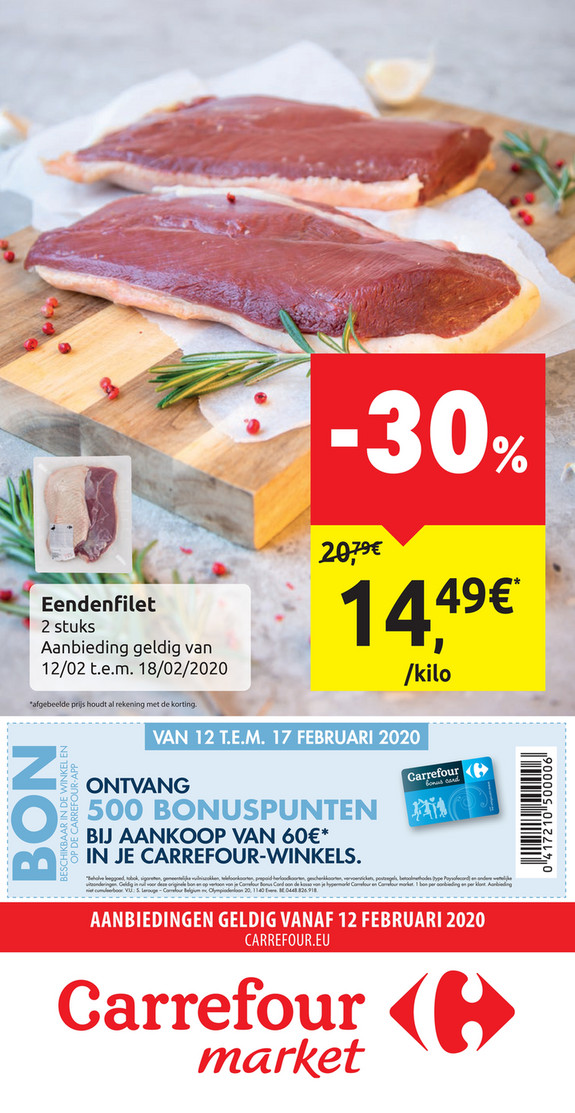 Carrefour Market folder van 12/02/2020 tot 18/02/2020 - Weekpromoties 07