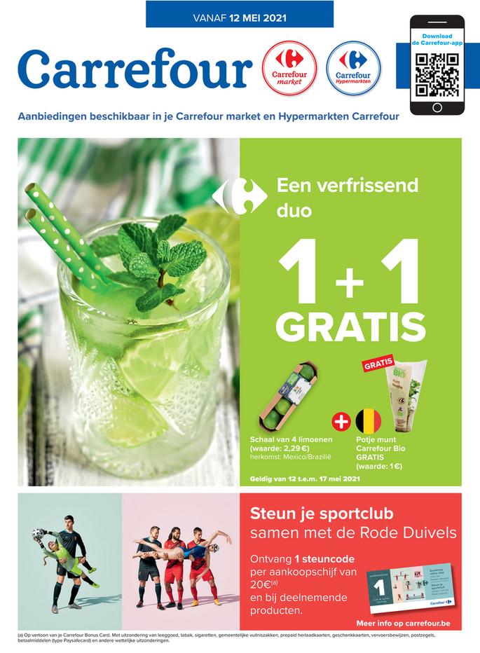 Carrefour Market folder van 12/05/2021 tot 17/05/2021 - Weekpromoties 19