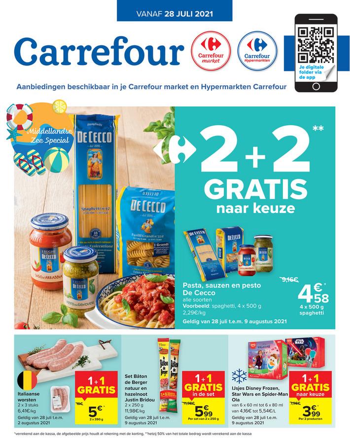Carrefour Market folder van 28/07/2021 tot 02/08/2021 - Weekpromoties 30