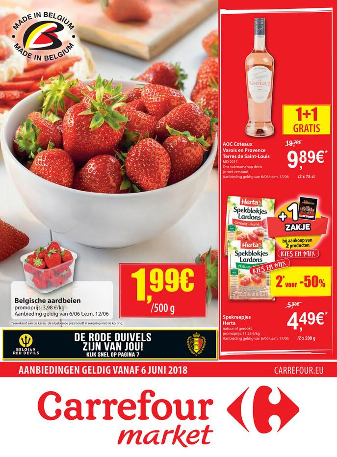Carrefour Market folder van 06/06/2018 tot 17/06/2018 - Midden juni Carrefour market.pdf