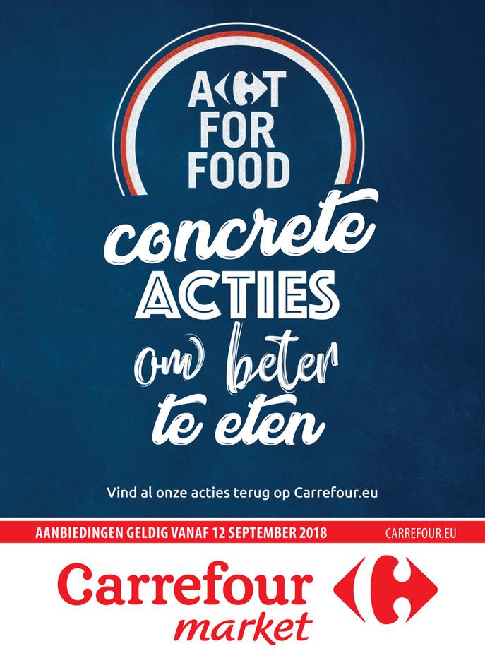 Carrefour Market folder van 12/09/2018 tot 23/09/2018 - Concrete acties