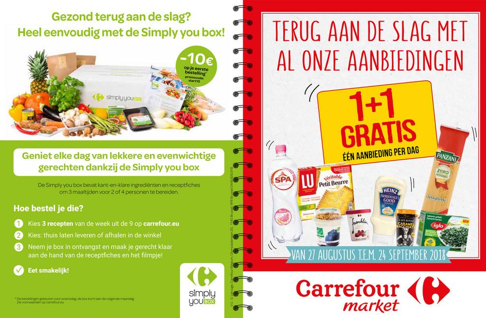 Carrefour Market folder van 27/08/2018 tot 24/09/2018 - carnet_de_bons_carrefour_market