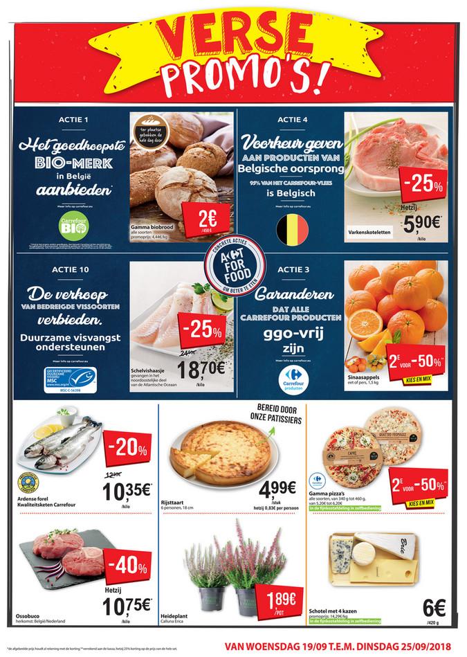 Carrefour Market folder van 12/09/2018 tot 30/09/2018 - verse promos