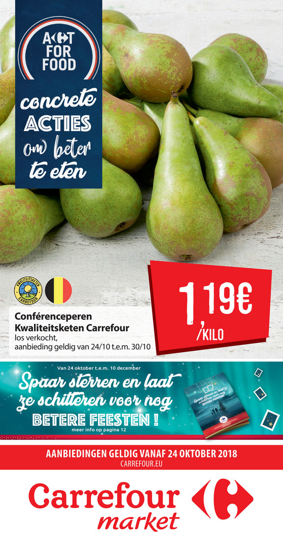 Carrefour Market folder van 24/10/2018 tot 30/10/2018 - Weekpromoties 43 - peer