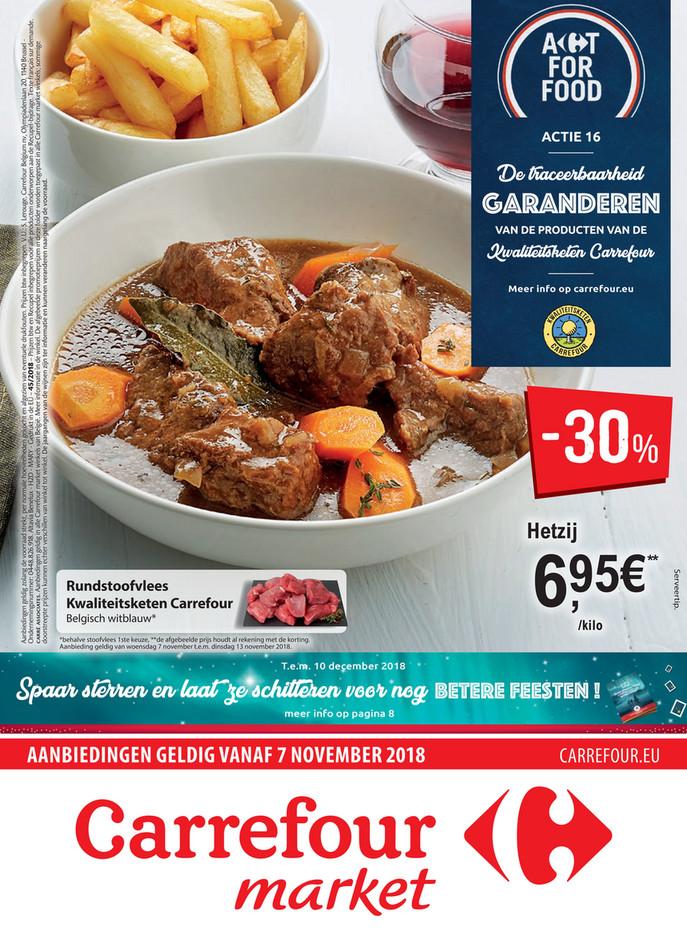 Carrefour Market folder van 07/11/2018 tot 13/11/2018 - Weekpromoties 45