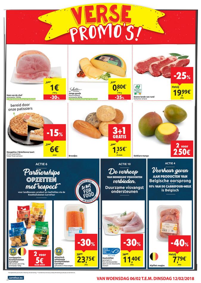 Carrefour Market folder van 06/02/2019 tot 12/02/2019 - weekpromoties 6