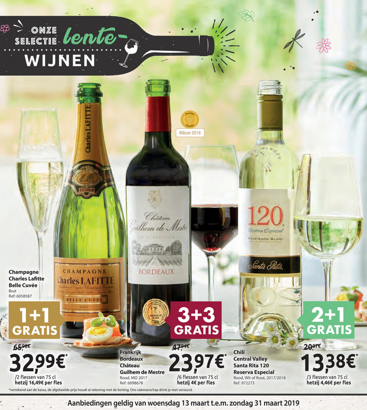 Carrefour Market folder van 13/03/2019 tot 31/03/2019 - Weekpromoties 11b