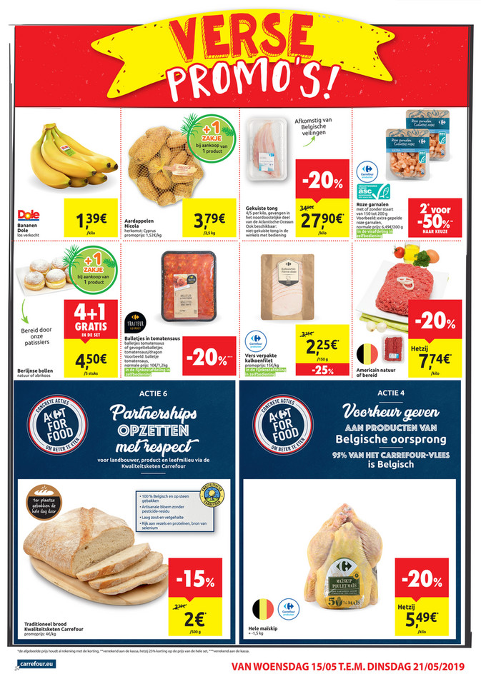 Carrefour Market folder van 15/05/2019 tot 21/05/2019 - Weekpromoties 20