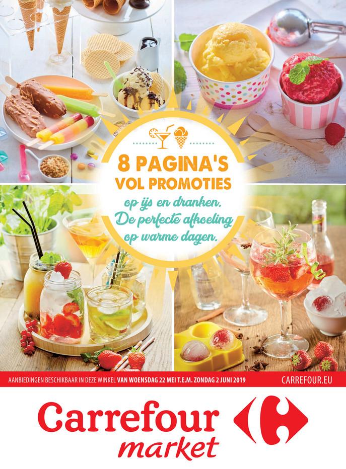 Carrefour Market folder van 22/05/2019 tot 02/06/2019 - Promotions de la semaine 21