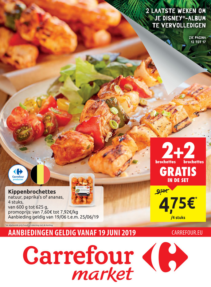 Carrefour Market folder van 19/06/2019 tot 25/06/2019 - Weekpromoties 25