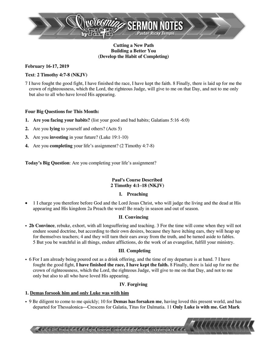 Overcoming by Faith - 021719 - Page 1 - Created with Publitas com