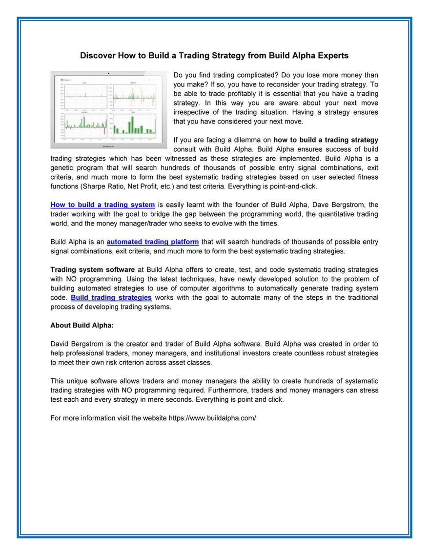 Quantitative Trading Systems Pdf