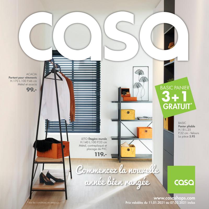 Folder Casa du 11/01/2021 au 08/02/2021 - Promotions du mois de janvier