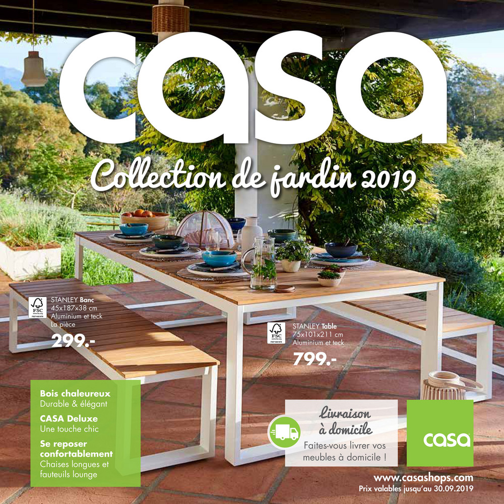 Folder Casa Du 21022019 Au 30092019 Dépliant Jardin