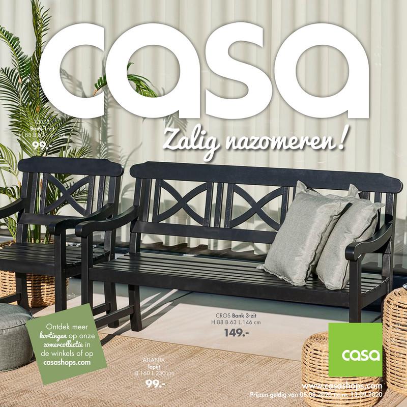 Casa folder van 08/08/2020 tot 13/09/2020 - Maandpromoties augustus