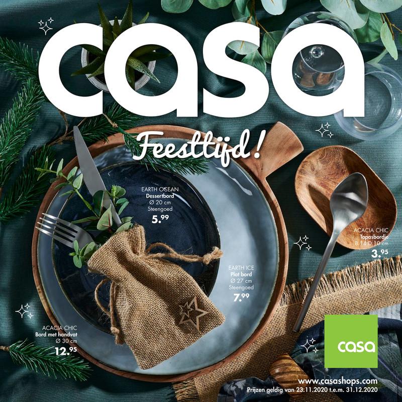 Casa folder van 23/11/2020 tot 31/12/2020 - Maandpromoties december