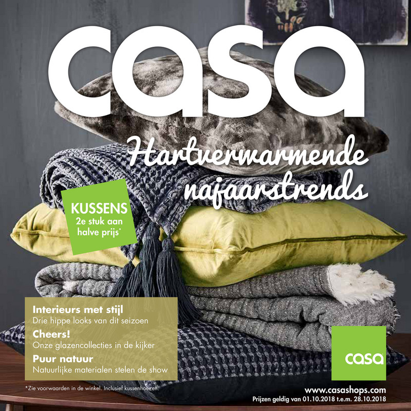Casa folder van 01/10/2018 tot 28/10/2018 - Maandpromoties