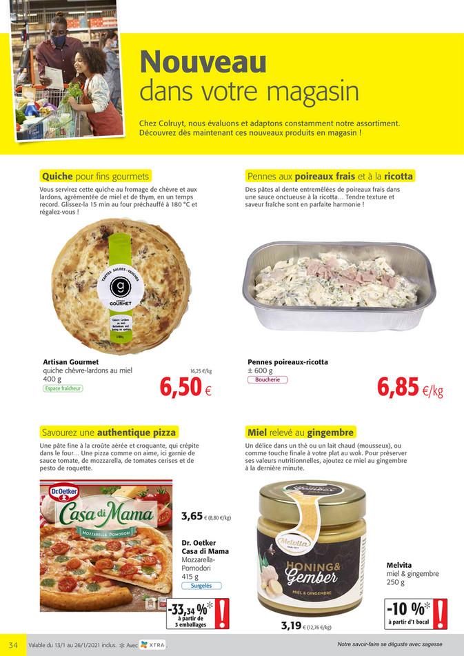 Folder Colruyt du 13/01/2021 au 26/01/2021 - Promotions de la semaine 3 N-Producten