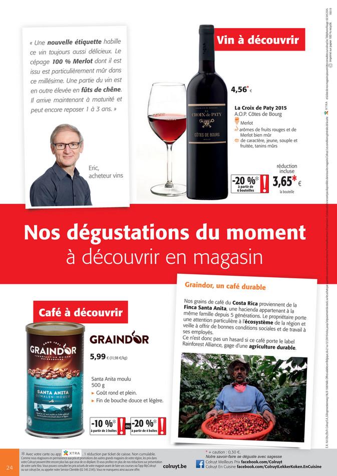 Folder Colruyt du 02/01/2019 au 15/01/2019 - wijn