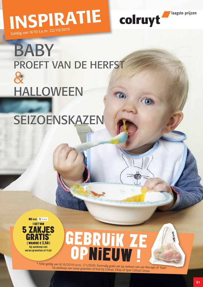 Colruyt folder van 09/10/2019 tot 22/10/2019 - Herfstgroenten baby