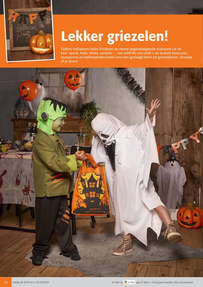 Colruyt folder van 09/10/2019 tot 22/10/2019 - Halloween