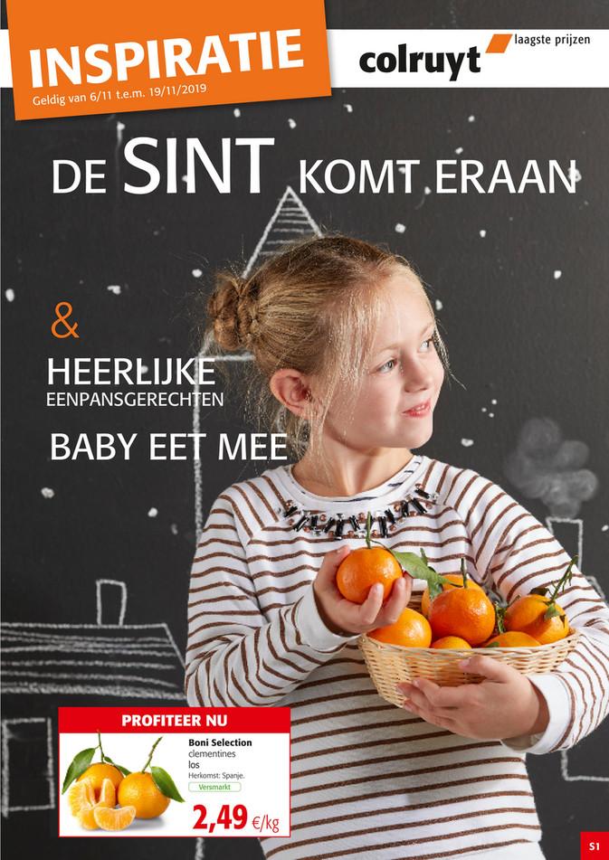 Colruyt folder van 06/11/2019 tot 19/11/2019 - Sint