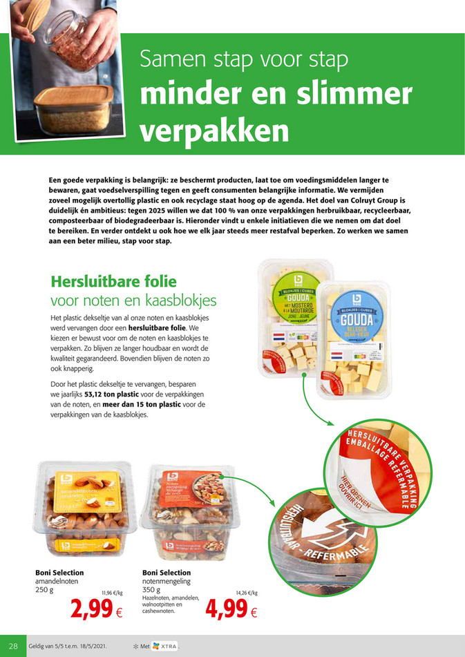 Weekpromoties 18 plasticbrij