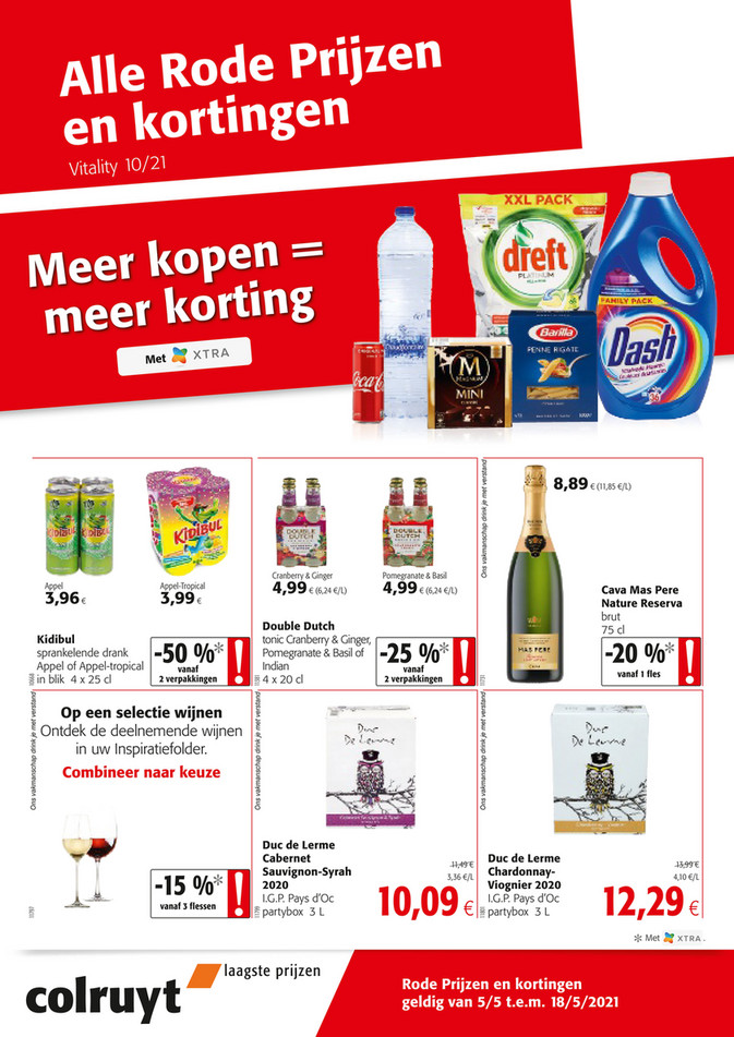 Weekpromoties 18 internet