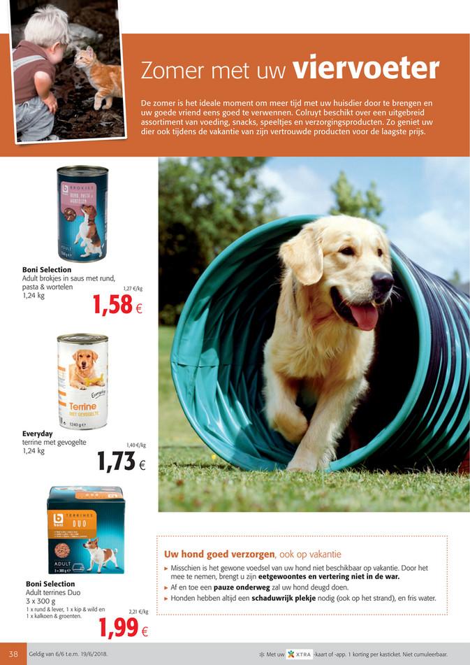 Colruyt folder van 06/06/2018 tot 19/06/2018 -  Preview NL_Huisdieren.pdf
