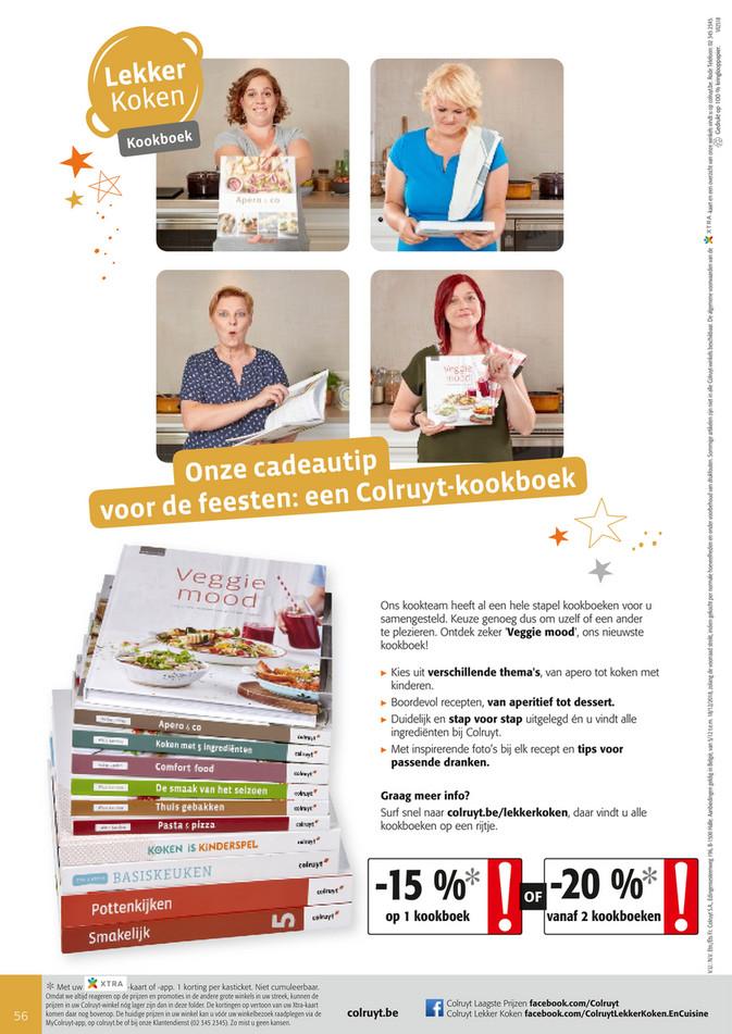 Colruyt folder van 05/12/2018 tot 18/12/2018 - Kookboeken