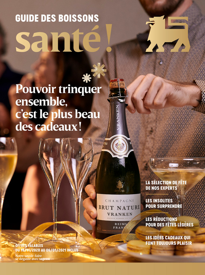 Folder Delhaize du 25/11/2020 au 06/01/2021 - Promotions de la semaine 49 drinks