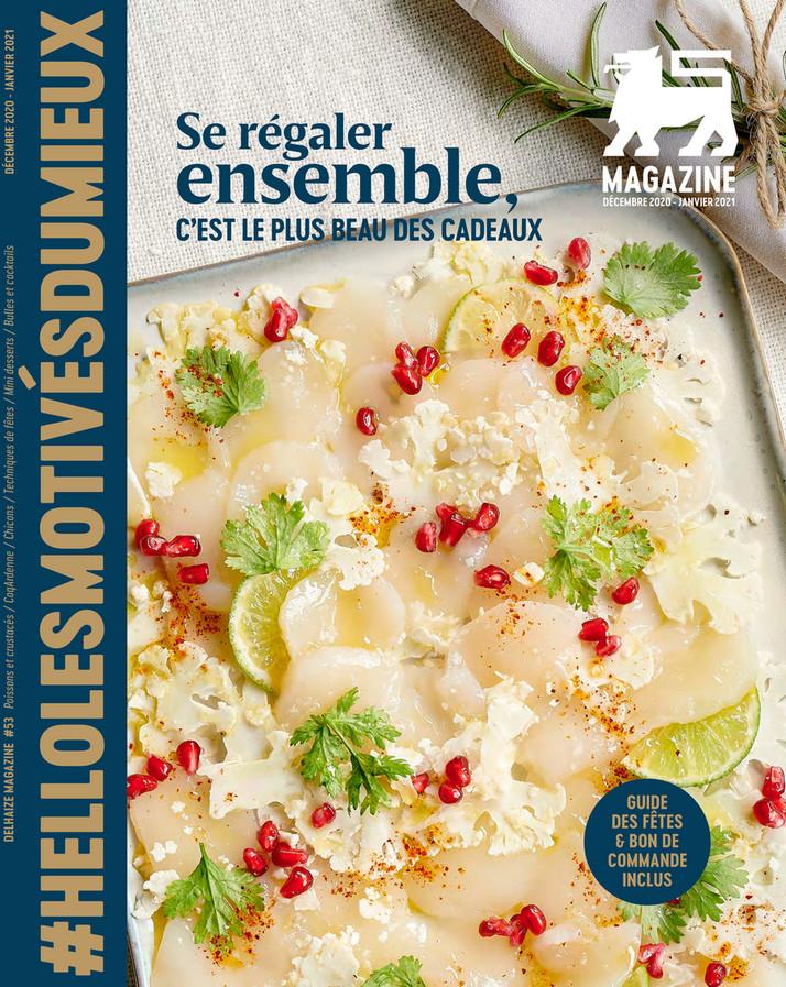 Folder Delhaize du 02/12/2020 au 31/01/2021 - Magazine decembre