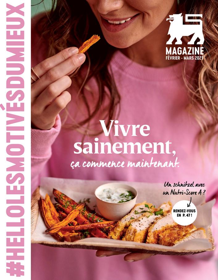 Folder Delhaize du 04/02/2021 au 31/03/2021 - Magazine fev-mars