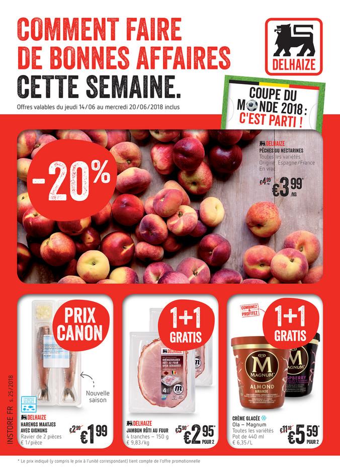 Folder Delhaize du 14/06/2018 au 20/06/2018 - delhaize-belgium-2018-w25-fr.pdf