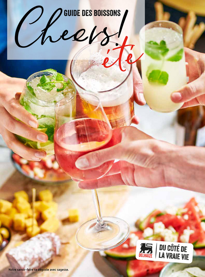 Folder Delhaize du 01/07/2018 au 30/09/2018 - Summer drinks