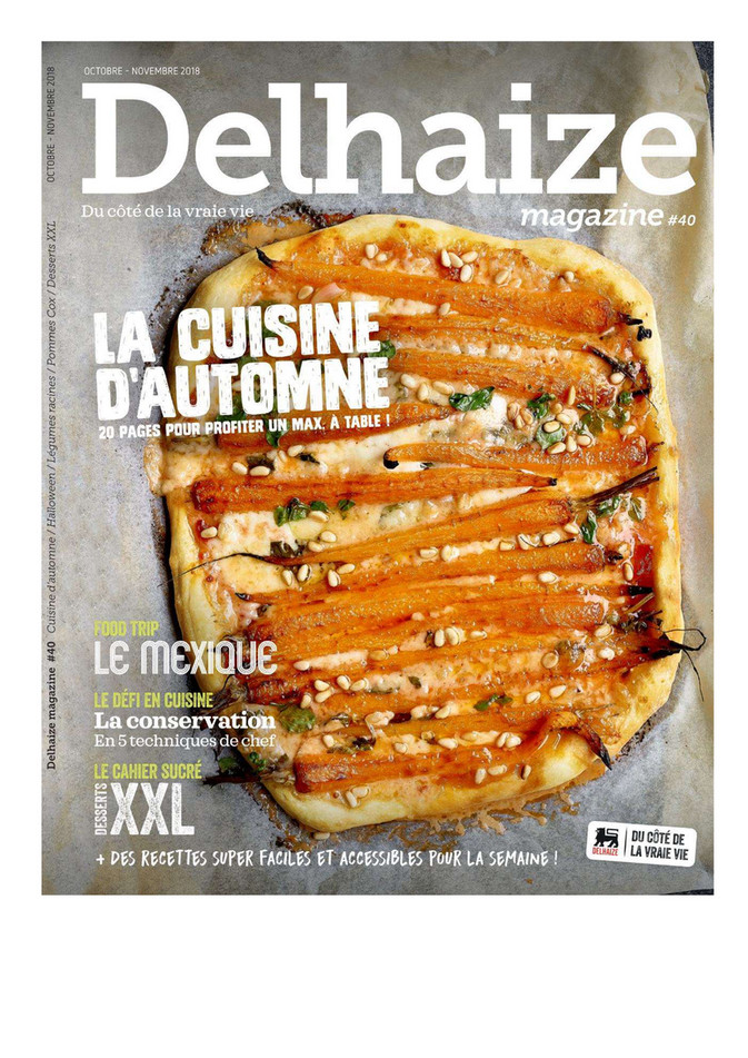 Folder Delhaize du 01/10/2018 au 30/11/2018 - Catalogus oktober november