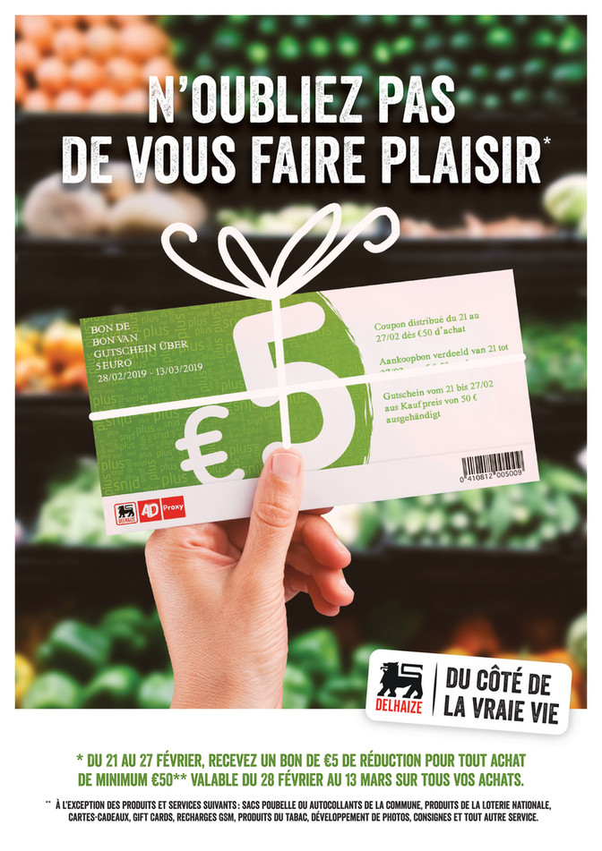 Coupon d'action
