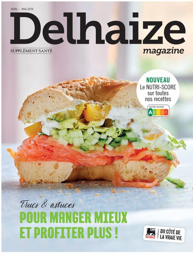 Folder Delhaize du 01/04/2019 au 31/05/2019 - Magazine extra